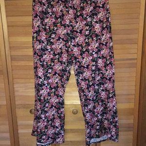 Pants - floral pants